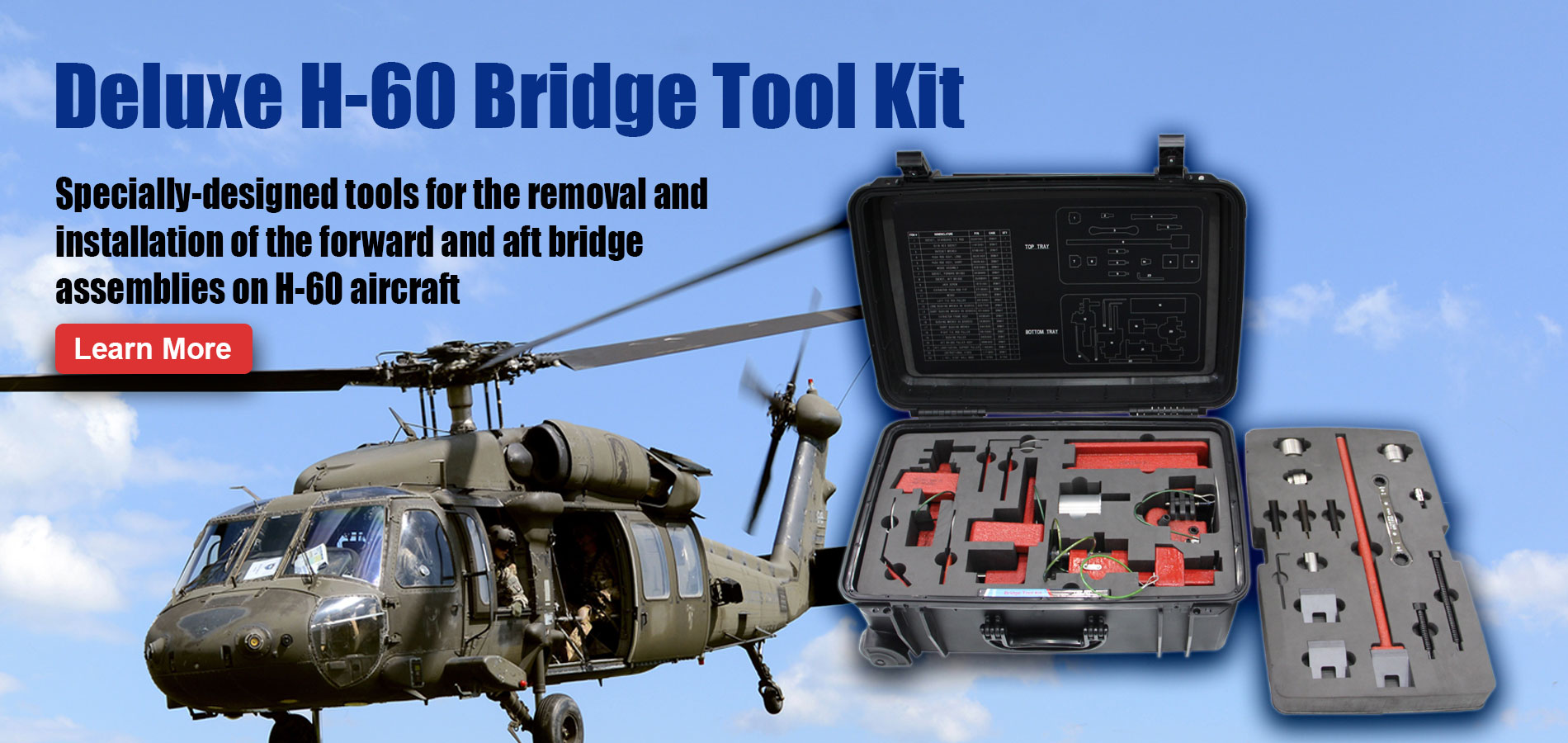 Deluxe H-60 Bridge Tool Kit slider banner